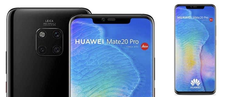 huawei mate 20 pro: Los mejores móviles chinos de gama alta a partir de 300€