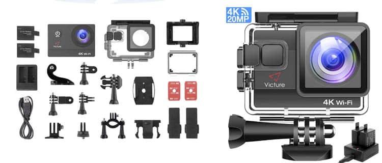 victure ac800 action cam. Mejor cámara de acción barata y mejores cámaras deportivas