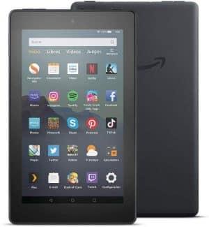 tablet amazon fire 7. Mejor tablet para niños barata y mejores tablets infantiles