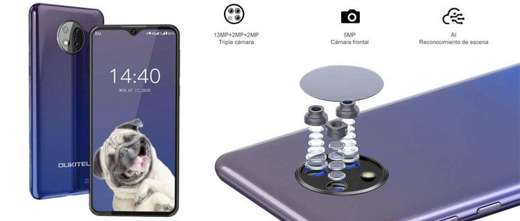 smartphone oukitel c19 - Mejores móviles chinos baratos por menos de 100€