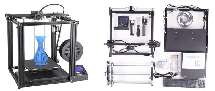 Creality3D Ender-5. Mejores impresoras 3D baratas con garantía de calidad precio