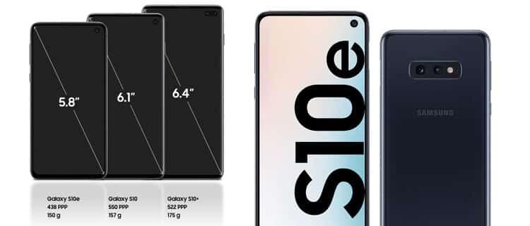 SAMSUNG GALAXY S10E. Los móviles Samsung más actuales para comprar