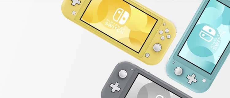 Nintendo Switch Lite en varios colores. Nintendo Switch y Switch Lite: ¿Cuáles son las diferencias?