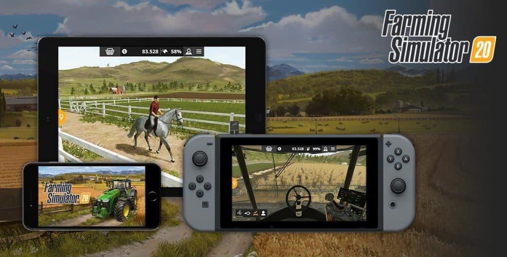 2019/12/03 Farming Simulator 20 (Switch)