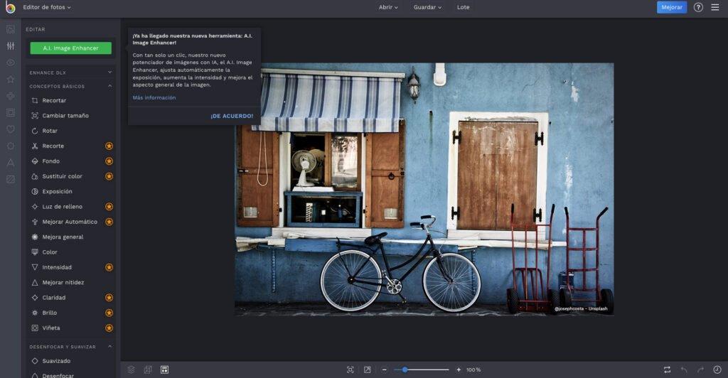 befunky - programas fáciles para retocar fotos e imágenes gratis