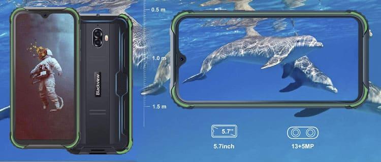 blackview bv5900. Mejores móviles chinos de entre 100 y 200 euros