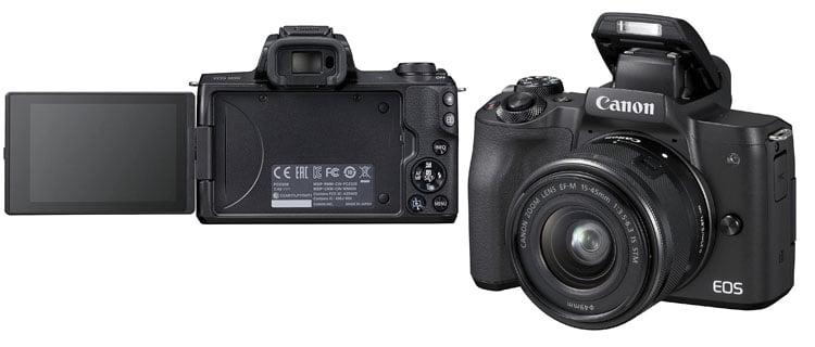 Canon EOS M50 - Top electrónica 2021: productos electrónicos más vendidos en su categoría