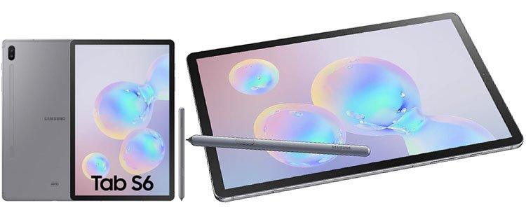 samsung galaxy tab s6 ¿Cuáles son las mejores tablets para trabajar y estudiar? Actualizado.