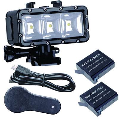 Led Fotografia Impermeable. Accesorios de buceo para cámaras GoPro y otras cámaras deportivas