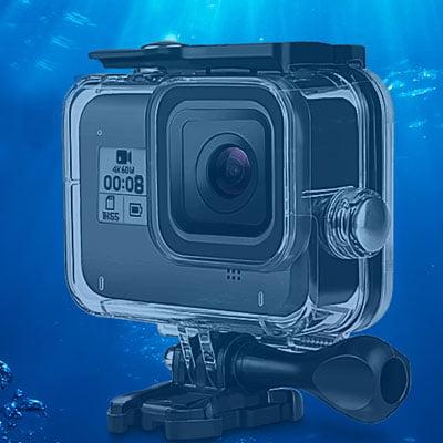 carcasa gopro hero 8 - Accesorios de buceo para cámaras GoPro y otras cámaras deportivas