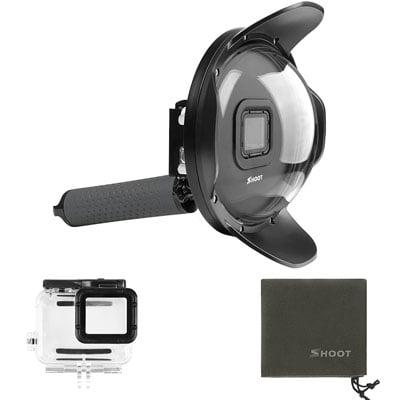 cúpula y carcasa gopro - Accesorios de buceo para cámaras GoPro y otras cámaras deportivas