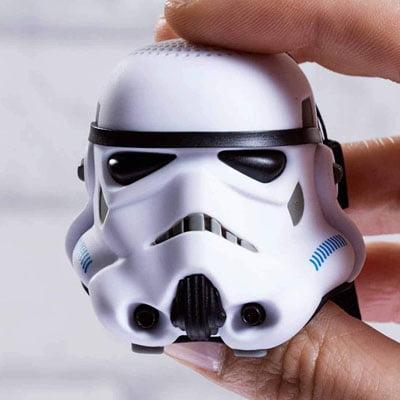 Altavoz stormtrooper basico pequeño - Mejores altavoces de Star Wars con tecnología Bluetooth para móviles