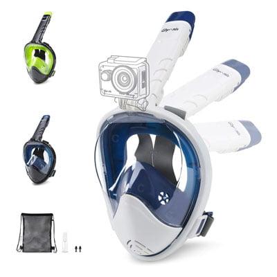 mascara con soporte action cam - Accesorios de buceo para cámaras GoPro y otras cámaras deportivas
