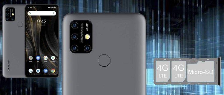 umidigi power 3 - Móvil Android con mejor batería y más duradera a la venta