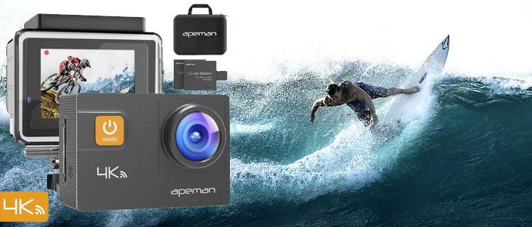 apeman a80 - Mejor cámara de acción barata y mejores cámaras deportivas