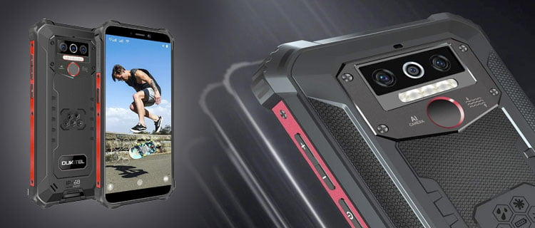Smartphone OUKITEL WP5 Pro movil ultra resistente IP68 e IP69K