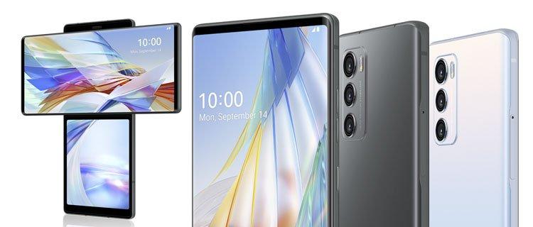 LG Wing - Móviles raros, ediciones especiales y smartphones con un toque diferente