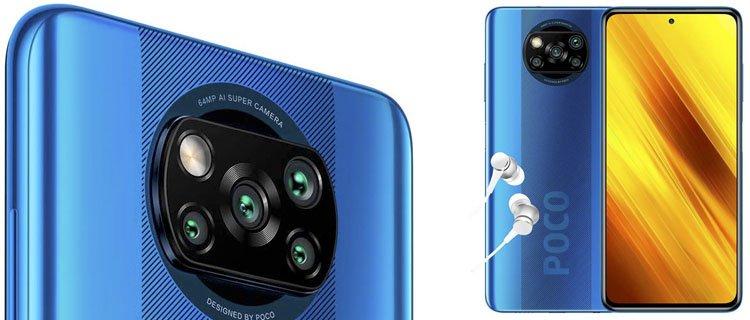 Xiaomi Poco X3. Smartphone Pocophone barato. Móvil barato y nuevo.