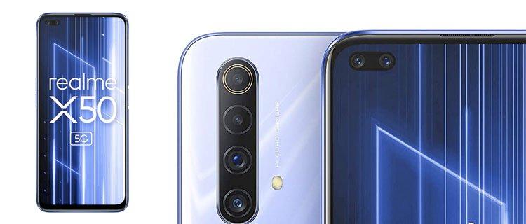 Smartphone realme x50 5g mejores móviles chinos baratos