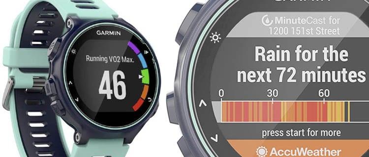 Garmin 735XT Forerunner Guía mejor smartwatch para Android. Selección actualizada.