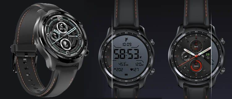 TicWatch Pro 3 Guía mejor smartwatch para Android. Selección actualizada.
