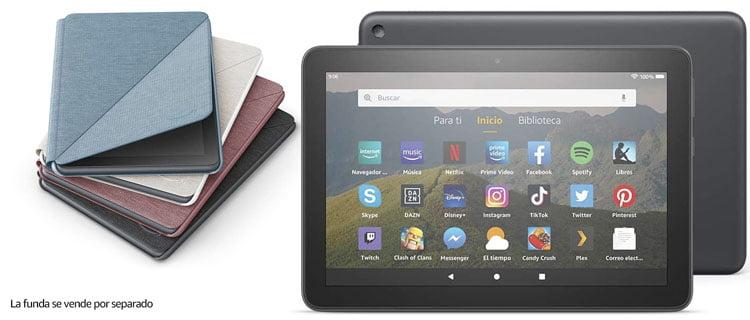 Amazon Tablet Fire HD 8. Las mejores tablets para jugar