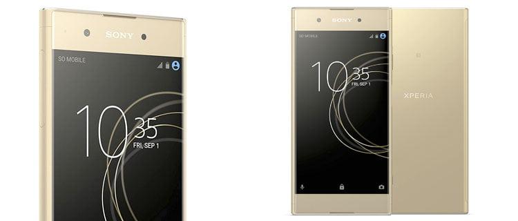 Sony Xperia XA1 Gold: móviles con pantalla pequeña de menos de 5,5 pulgadas