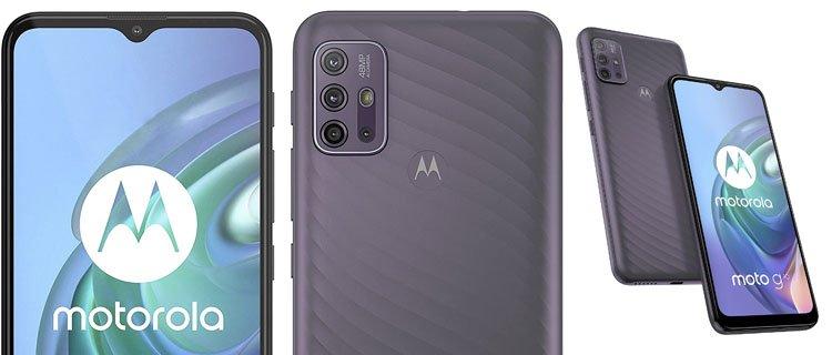 Smartphone superventas Motorola Moto G10