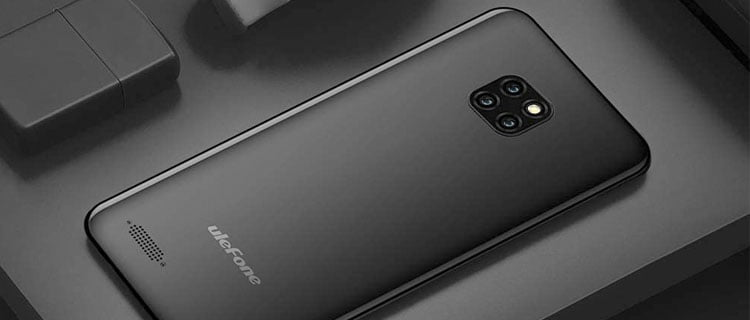 Smartphone y móvil barato Ulefone note 7 (2020)